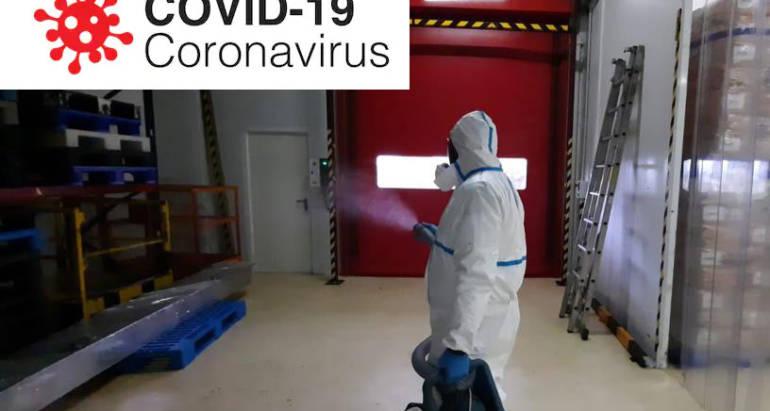 Desinfección COVID Asturias